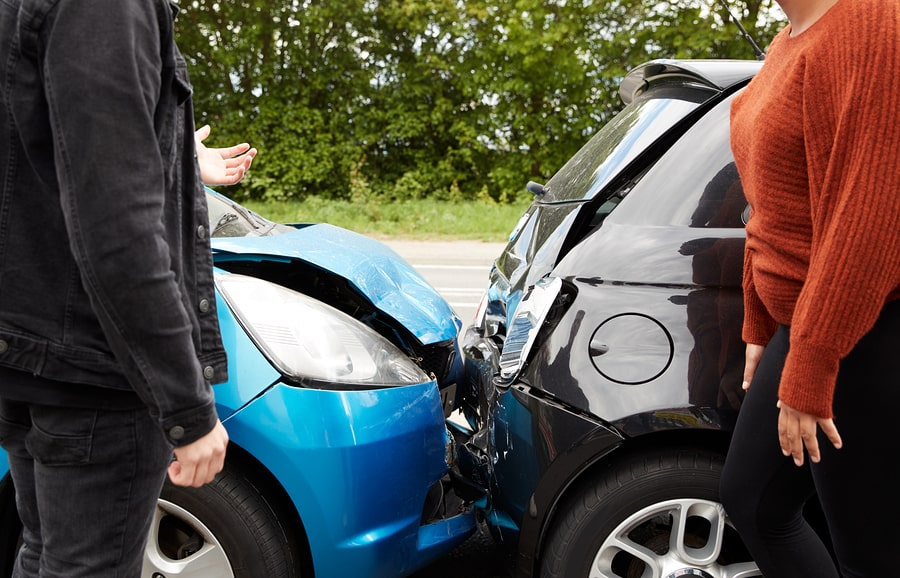 How do I handle a hit-and-run car accident?