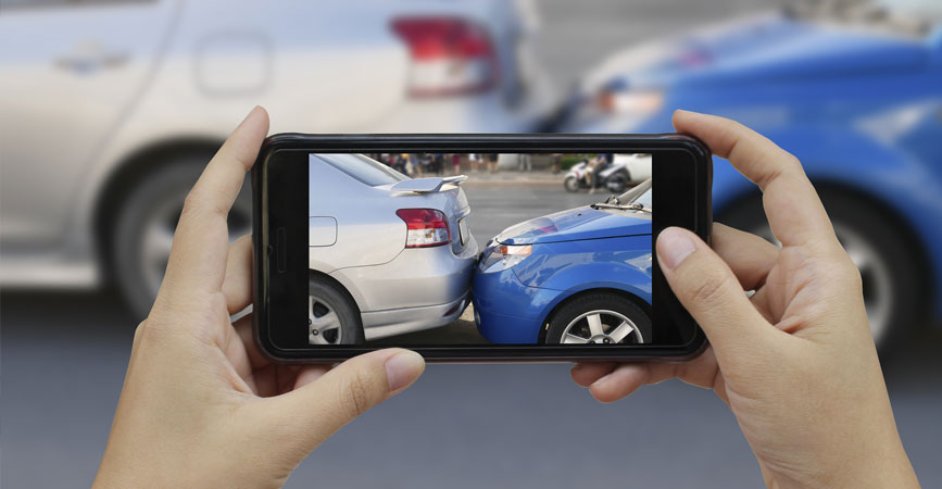 What information should I collect after a car accident in the United States?