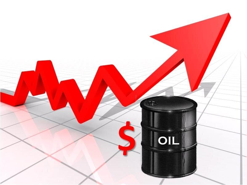 How many big mountains are there for international crude oil to capture 80 US dollars?