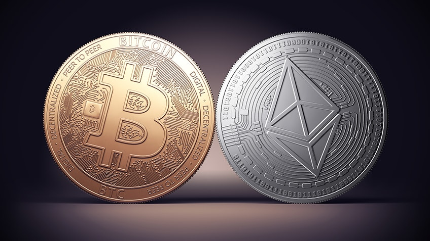 BTC and ETH stepped back on key support and did not break the short-term rebound in the day